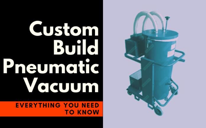 industrial-pneumatic vacuum cleaner